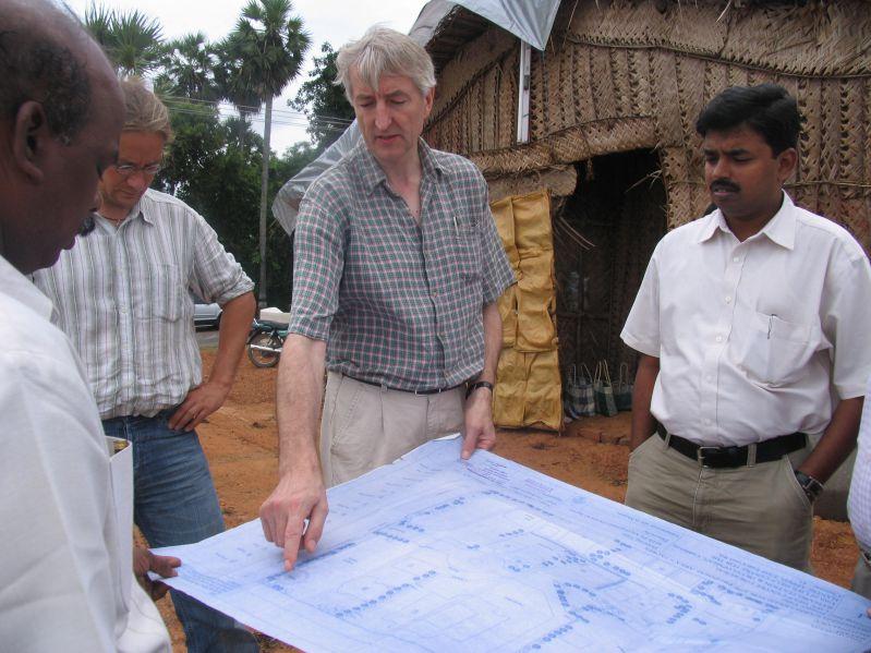 Dirk & Heing Cuddalore Visit